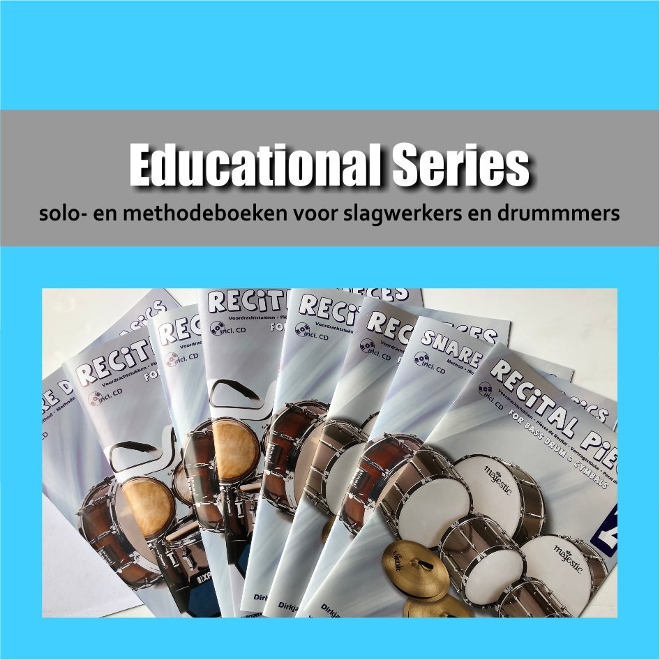 Educational Series | Solo boeken en methode boeken voor drummers en slagwerkers | Show & Marching Music