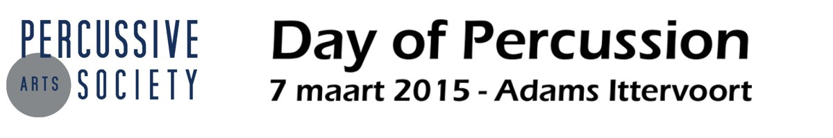 PAS Day of Percussion - Adams - 7 maart 2015