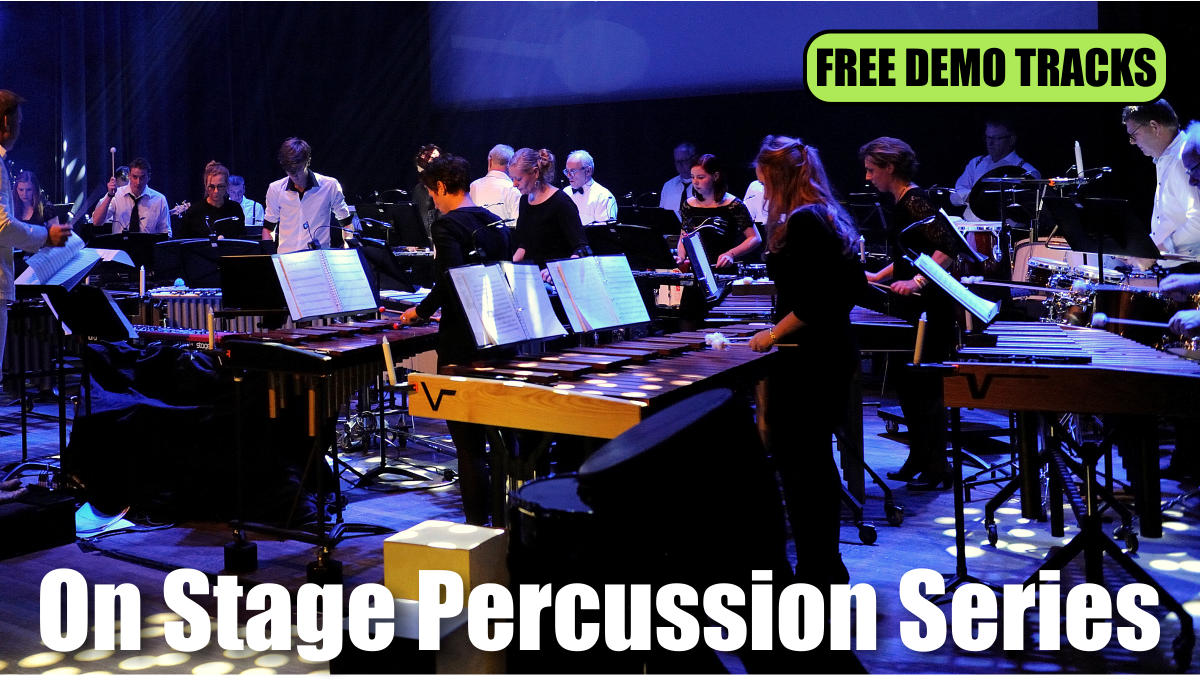 Free Demo Tracks | On Stage Percussion Series | Show & Marching Music