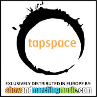 Tapspace publications exclusively distributed in Europe by Show & Marching Music