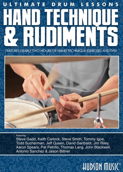 Hand Technique & Rudiments DVD