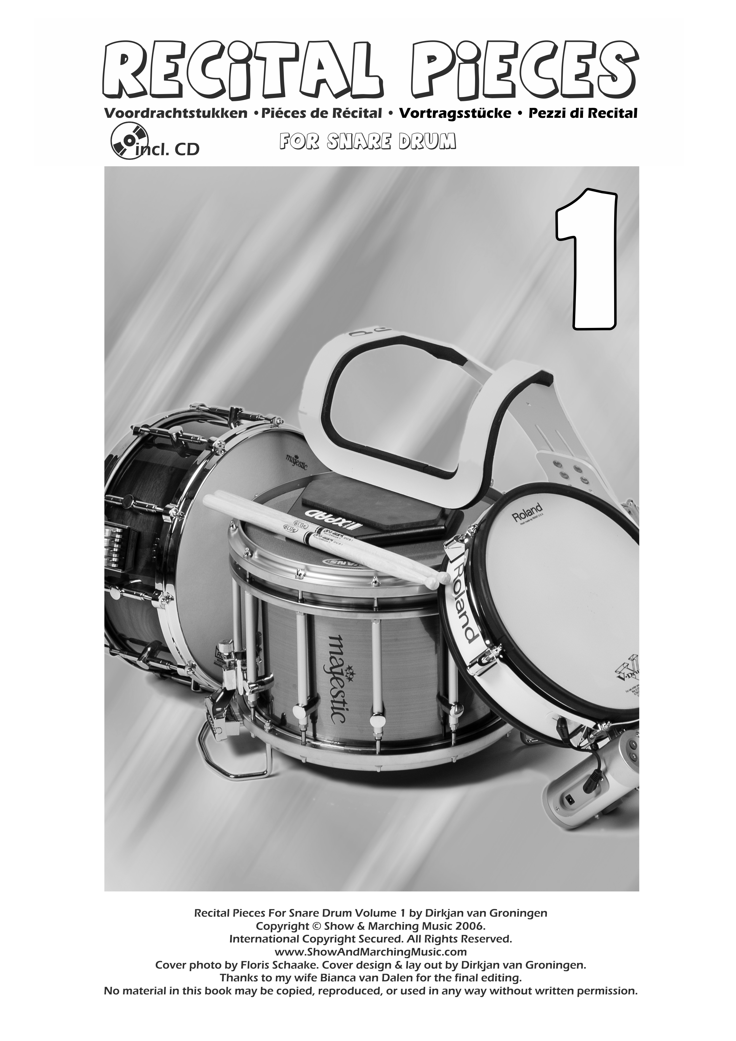Recital Pieces For Snare Drum 1