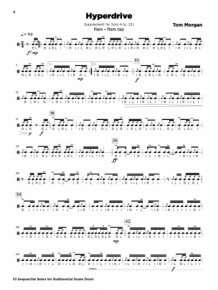 10 Sequential Solos for Rudimental Snare Drum