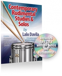 Contemporary Rudimental Studies and Solos + CD