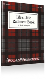 Life's Little Rudiment Book + CD