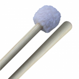 Puffy marching bass drum mallets (S)