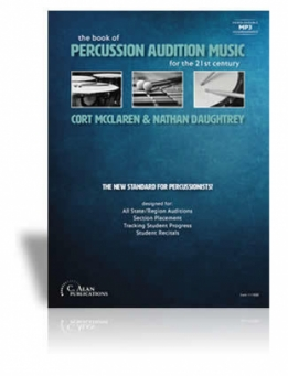 The Book of Percussion Audition Music
