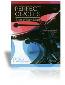 Perfect Circles: 12 Intermediate Pieces for 4 Timpani