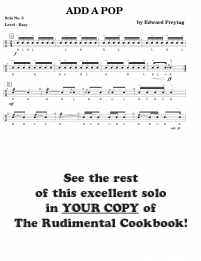Rudimental Cookbook