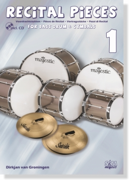 Recital Pieces For Bass Drum and Cymbals 1