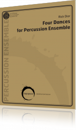 Four Dances for Percussion Ensemble