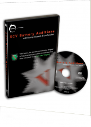 SCV Battery Audition DVD