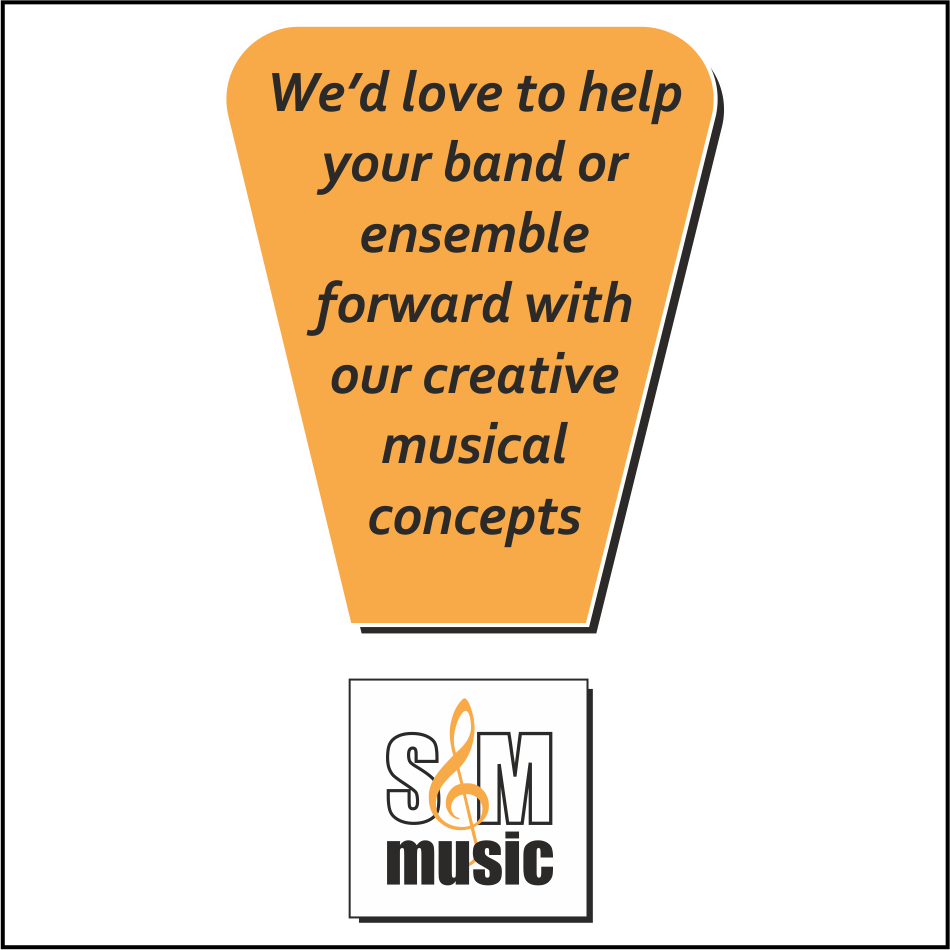 We'd love to help your band or ensemble forward with one of our creative musical concepts!