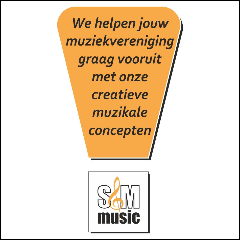 We helpen jouw muziekvereniging graag vooruit met onze creatieve concepten?